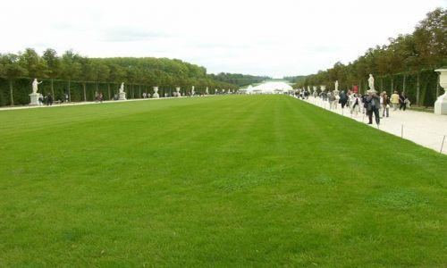 Zdjecie FRANCJA / brak / Paryż / Wersal- prawie jak pole golfowe