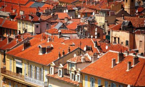 Zdjecie FRANCJA / Cote d'Azur / Nicea / Dachy