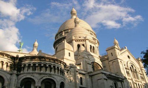 Zdjecie FRANCJA / Francja pólnocna / Paris - Sacre Coeur / Dobrze wszystkim znane