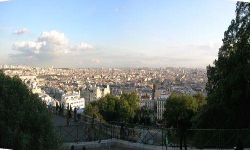 Zdjecie FRANCJA / Francja pólnocna / Paris  / Panorama miasta z Sacre Coeur
