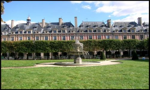 Zdjecie FRANCJA / Fr.płnocna / Paryz / Place des Vosges
