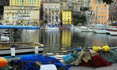 Zdjecie FRANCJA / Korsyka / Bastia / Port jak z dawnych lat