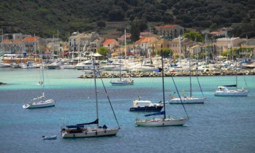 Zdjęcie FRANCJA / Korsyka / Macinaggio / Malowniczy port