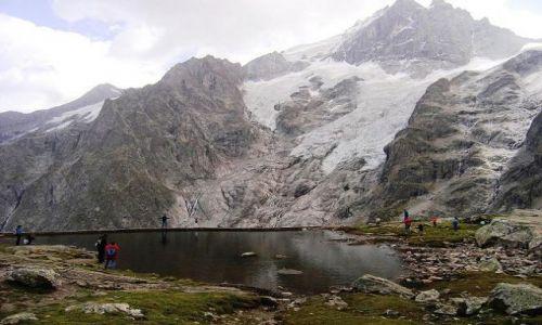 Zdjecie FRANCJA / brak / La Grose / Alpejskie jezioro