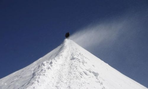 Zdjecie FRANCJA / -Mont-Blanc / Francja / na dachu Europy