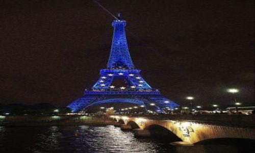 Zdjecie FRANCJA / Paryż / Paryż / Wieczór nad Sekwaną