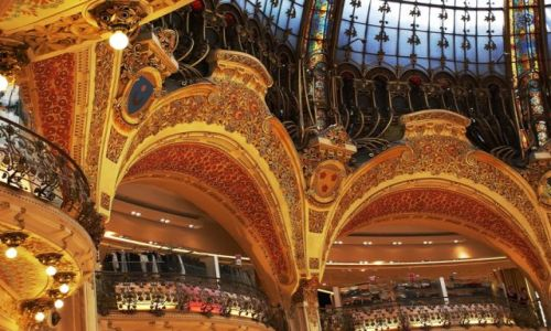 Zdjęcie FRANCJA / Paryż / Galerie La Fayette / Nie tylko zakupy