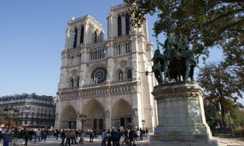 Zdjęcie FRANCJA / brak / Paryż - Katedra Noterdam / Paryż - Katedra Noterdam