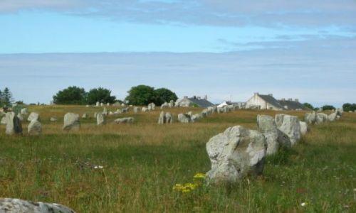 Zdjęcie FRANCJA / Bretania / Carnac / Tajemne kamienie w Carnac