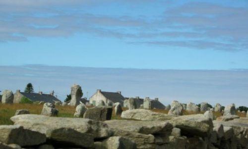 Zdjęcie FRANCJA / Bretania / Carnac / Tajemne kamienie c.d.