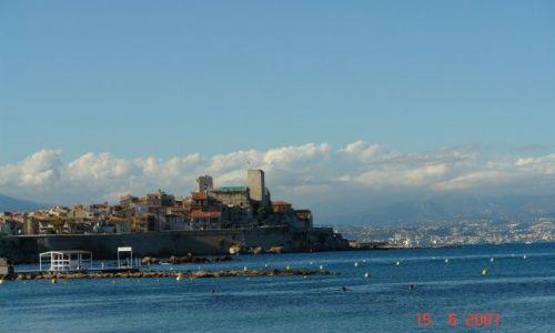 Zdjecie FRANCJA / Cote d`Azur / Antibes / Lazurowe wybrzeże