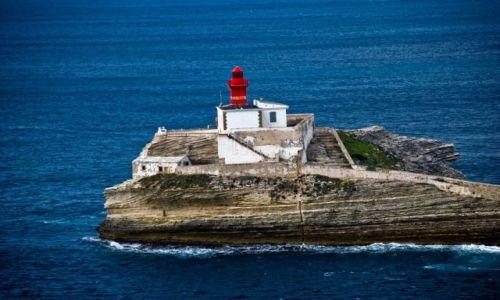Zdjecie FRANCJA / brak / Bonifacio / Rejs POGORIĄ po Morzu Śródziemnym ; Włochy, Francja