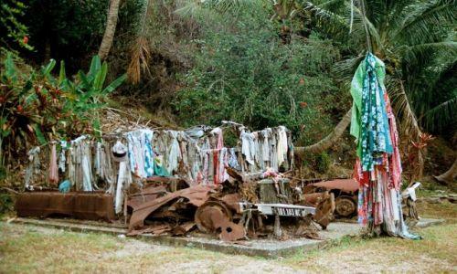Zdjęcie FRANCJA / Nowa Kaledonia / Hienghene / Pomnik