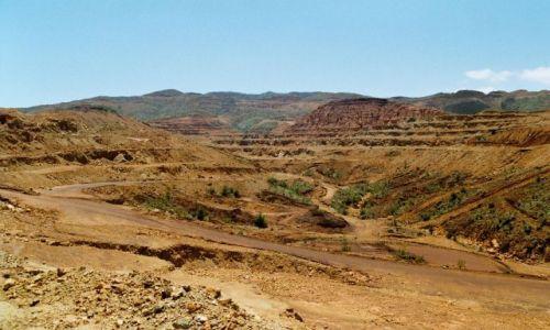 Zdjęcie FRANCJA / Nowa Kaledonia / kopalnia niklu / wielka dziura