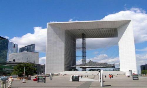 Zdjecie FRANCJA / brak / Paryż, dzielnica La Defense / La Grande Arche