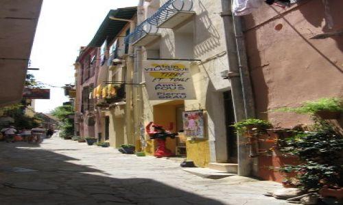 Zdjecie FRANCJA / Langwedocja / Collioure / Francuskie zaułki