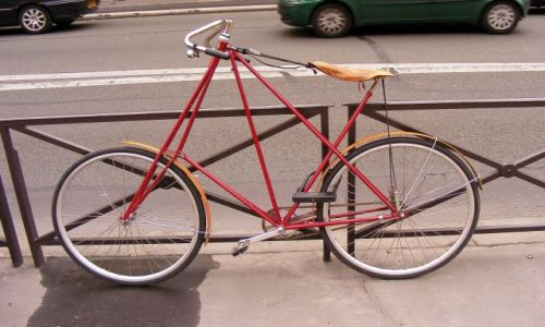Zdjecie FRANCJA / brak / Paryż / Rower