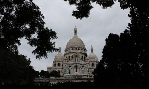 Zdjecie FRANCJA / brak / Paryż / Bazylika Sacre-Cour