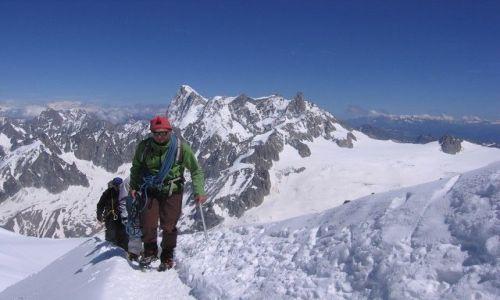 Zdjecie FRANCJA / Alpy / Alpy / W drodze na Mount Blanc