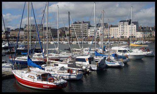 Zdjecie FRANCJA / brak / Cherbourg / port