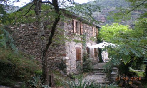 Zdjecie FRANCJA / langwedocja / montania / piękny,stary domek
