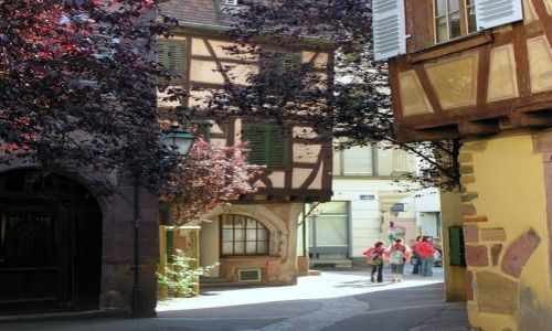Zdjecie FRANCJA / Alzacja / Colmar / miasteczka na s