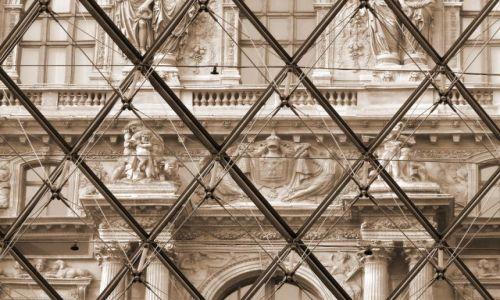 Zdjęcie FRANCJA / Ile de france / Paryż / Louvre - Stare i nowe