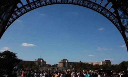 Zdjecie FRANCJA / - / Paryż / kolejka do wjazdu na wieże