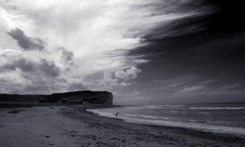 Zdjecie FRANCJA / Normandia / Criel / przed burza