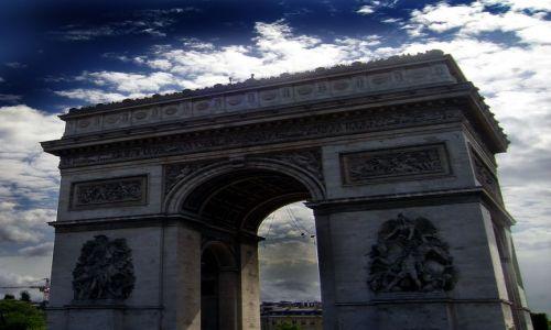 Zdjecie FRANCJA / Francja / Paryż / Łuk