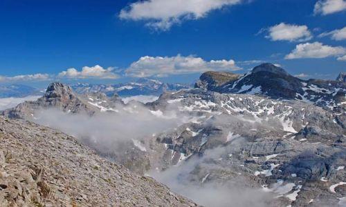 Zdjecie FRANCJA / Pireneje / Pic d'Anie / Stół Trzech Kró
