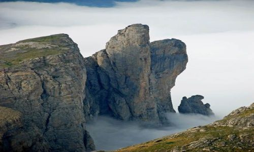 Zdjęcie FRANCJA / Pireneje / Puerto de Acherito / Iglice Ansabere