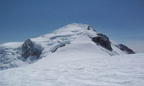 Zdjecie FRANCJA / - / W drodze na Mont Blanc / Mont Blanc z Dome du Gouter (4306 m)