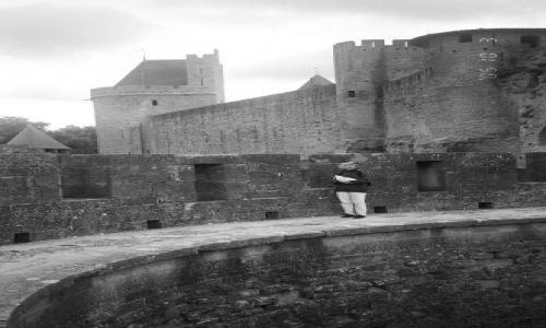 FRANCJA / brak / Francja / Carcassonne - na murach
