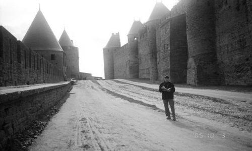 FRANCJA / brak / Francja / Carcassonne - wewnątrz obwarowań