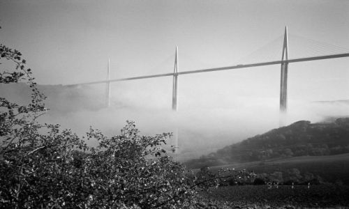 Zdjecie FRANCJA / brak / Południowa Francja / Most w Millau