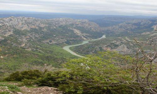 FRANCJA / - / Gorges du verdon  / kanion rzeki Verdon