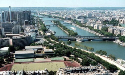 FRANCJA / - / Paryż / Eiffla, II poziom.