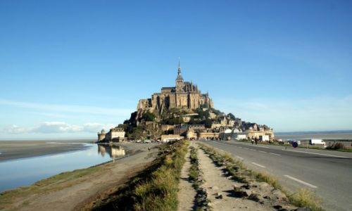 Zdjecie FRANCJA / Normandia / Normandia / Mont Saint Michel