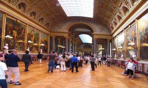 Zdjęcie FRANCJA / - / Paryż - Wersal / Wersal - wnętrza