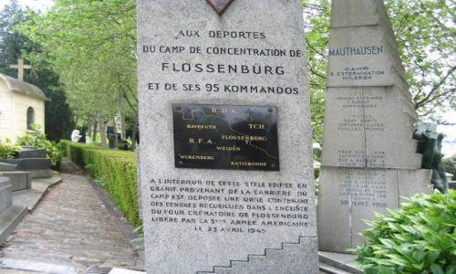 Zdjęcie FRANCJA / - / Paryż -  Cmentarz Pere - Lachaise / Cmentarz Pere-Lachaise