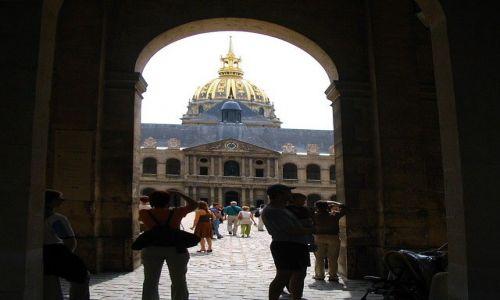 Zdjecie FRANCJA / - / Paryż / Pałac Inwalidów z sarkofagiem Napoleona Bonaparte