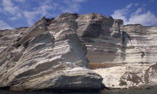 Zdjęcie FRANCJA / -Korsyka / Bonifacio / Białe klify