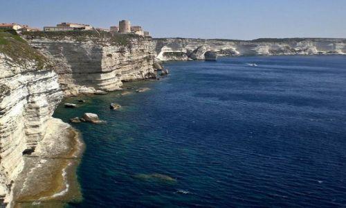 Zdjęcie FRANCJA / Korsyka / Bonifacio / Klify