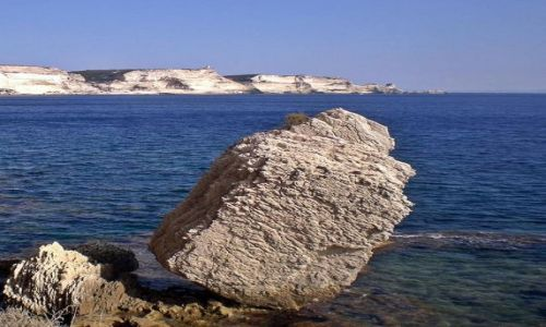 Zdjęcie FRANCJA / Korsyka / Bonifacio / Zaraz się przewróci:)