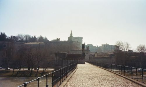 Zdjecie FRANCJA / brak / Avinion / Avinion- most i pałac