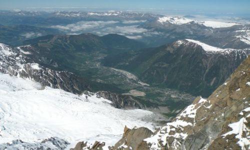 Zdjecie FRANCJA / Alpy / L'Aiguille du Midi / Moje wedrowanie