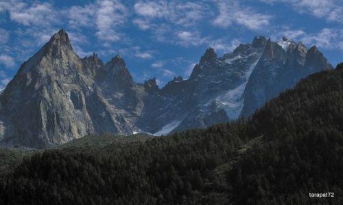 Zdjecie FRANCJA / - / Chamonix Mont Blanc / W pobliżu Mt Blanc