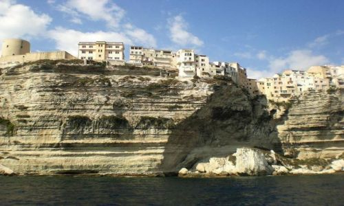 Zdjecie FRANCJA / Korsyka / Bonifacio / Miasto na skałach