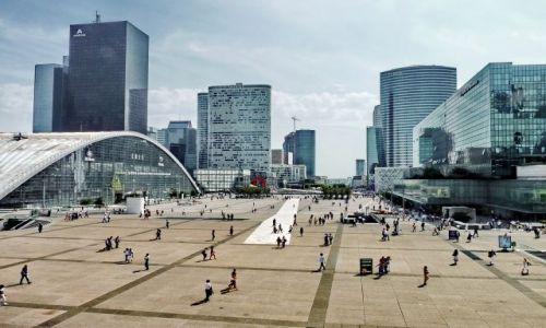 Zdjęcie FRANCJA / ile de France / Paryż / La Defense